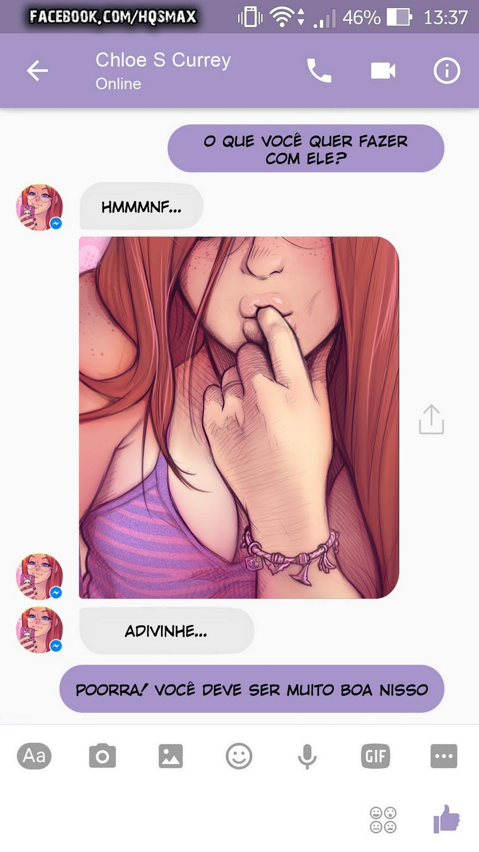 06 A Chat With Chloe - hentai, comics-hq