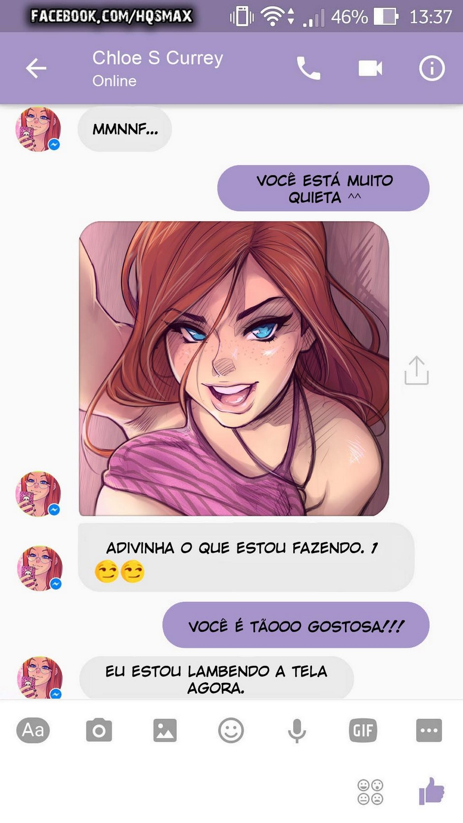 18 A Chat With Chloe - hentai, comics-hq