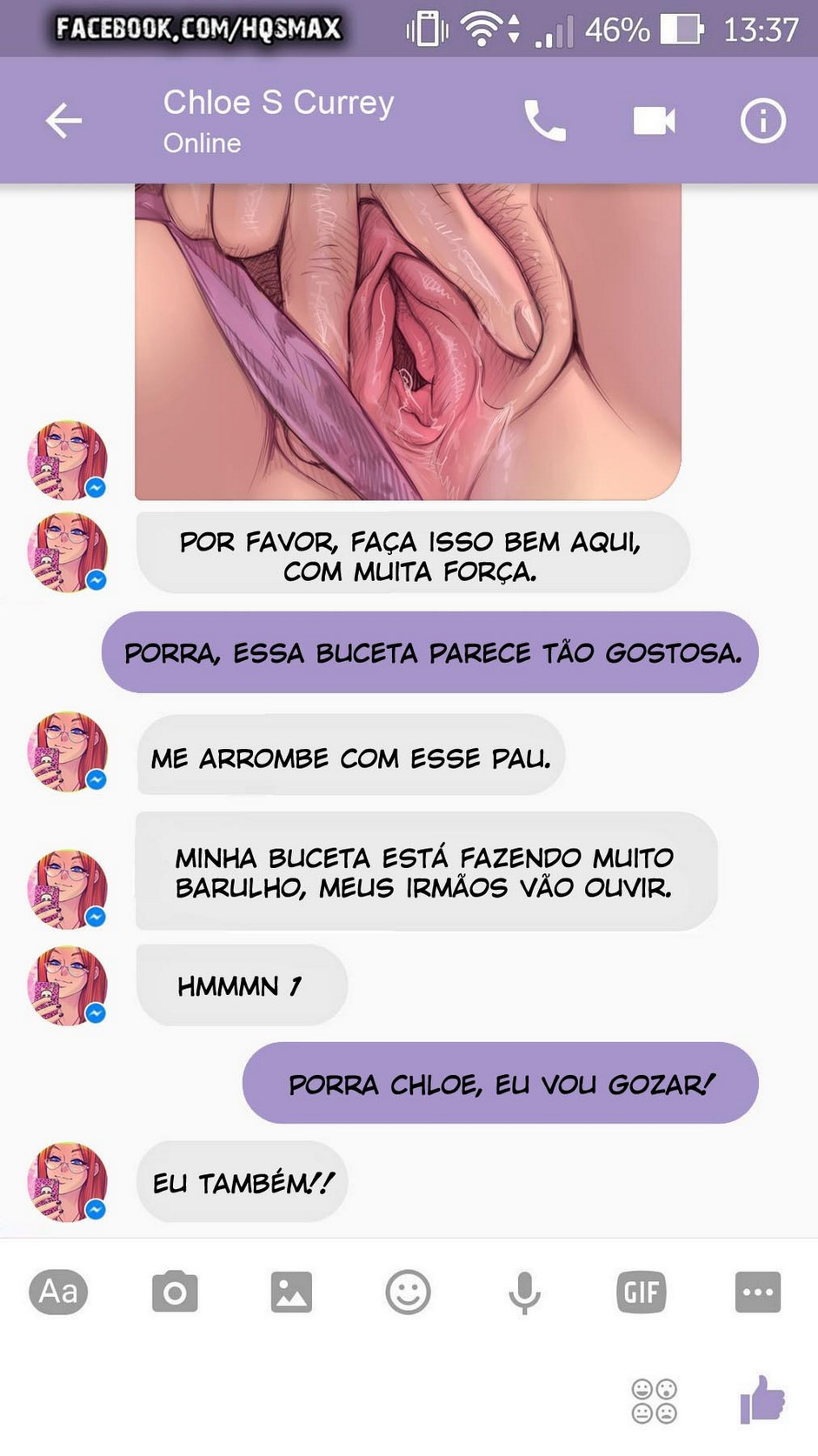 23 A Chat With Chloe - hentai, comics-hq