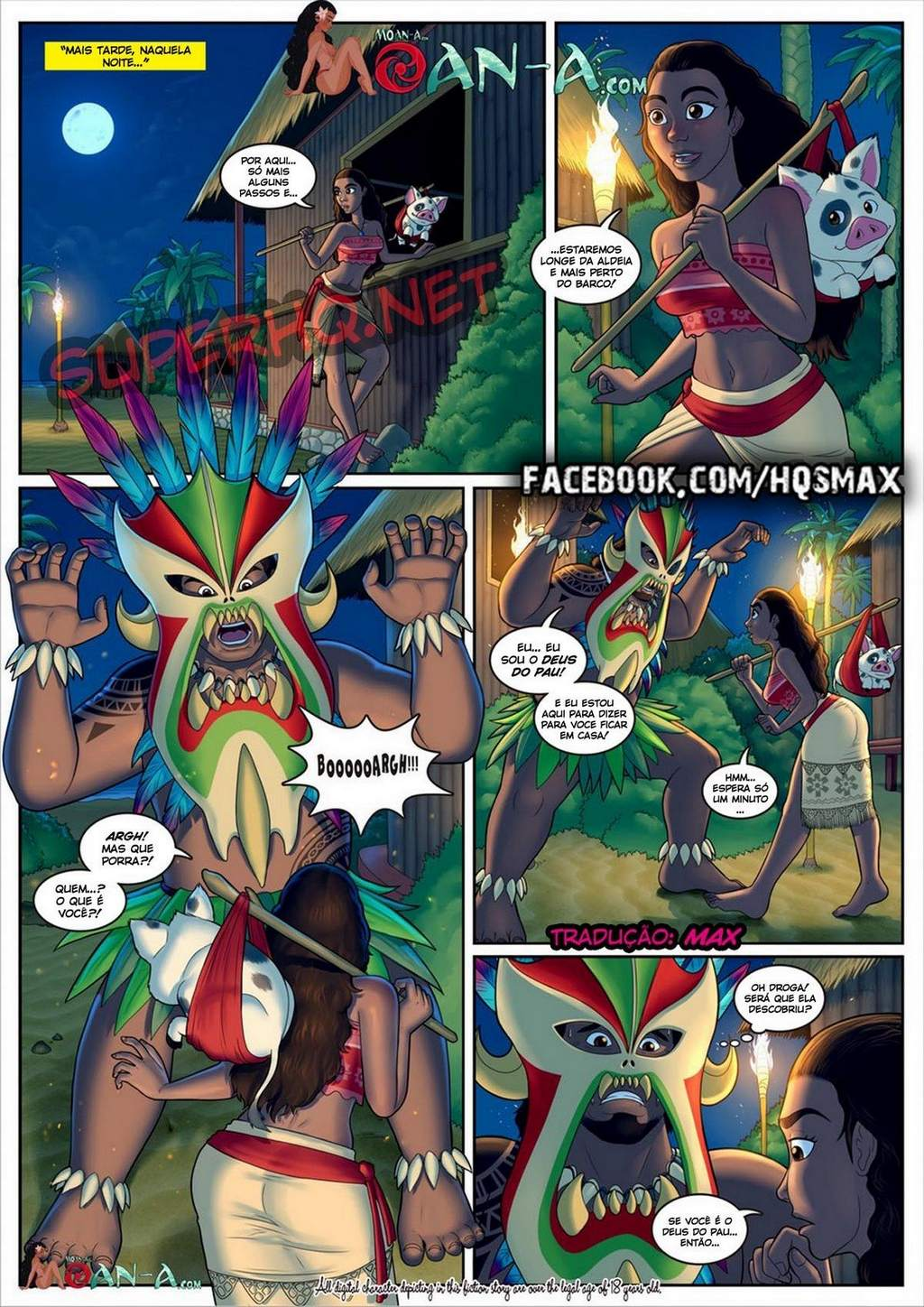 Moana – A ilha do gemido part 1 Disney Hentai Pag. 06 - hentai, comics-hq