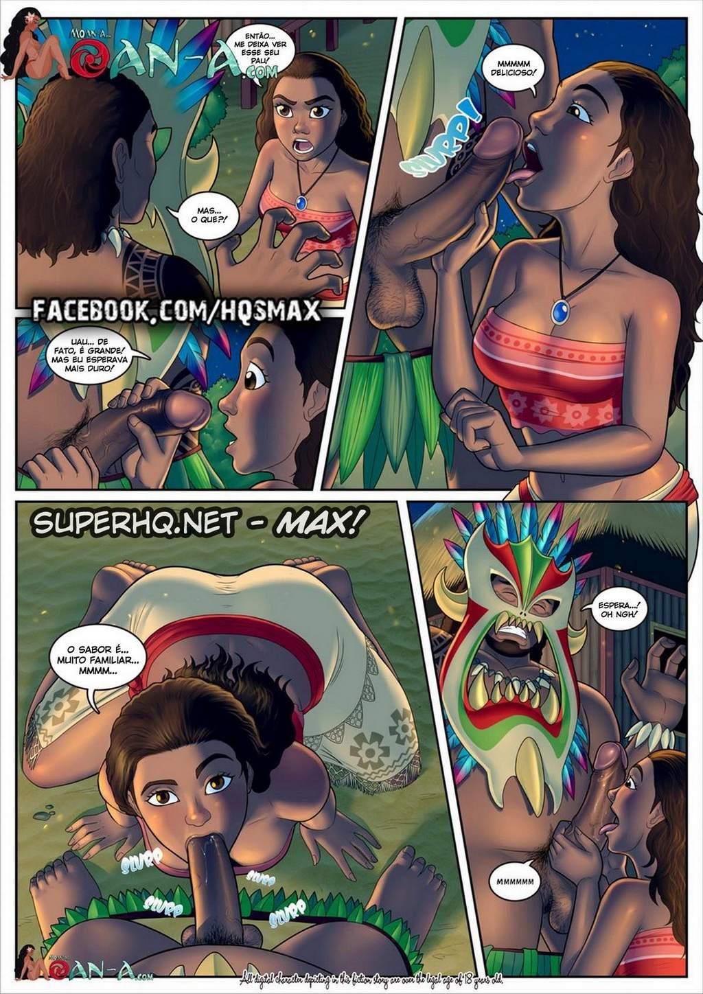 Moana – A ilha do gemido part 1 Disney Hentai Pag. 07 - hentai, comics-hq