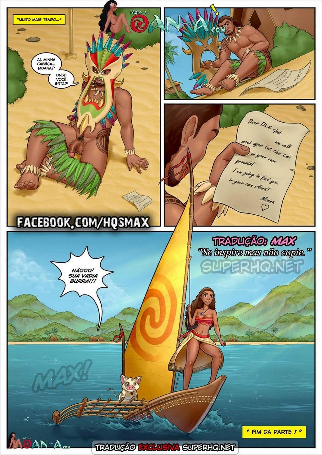 Moana – A ilha do gemido part 1 Disney Hentai Pag. 13 - hentai, comics-hq