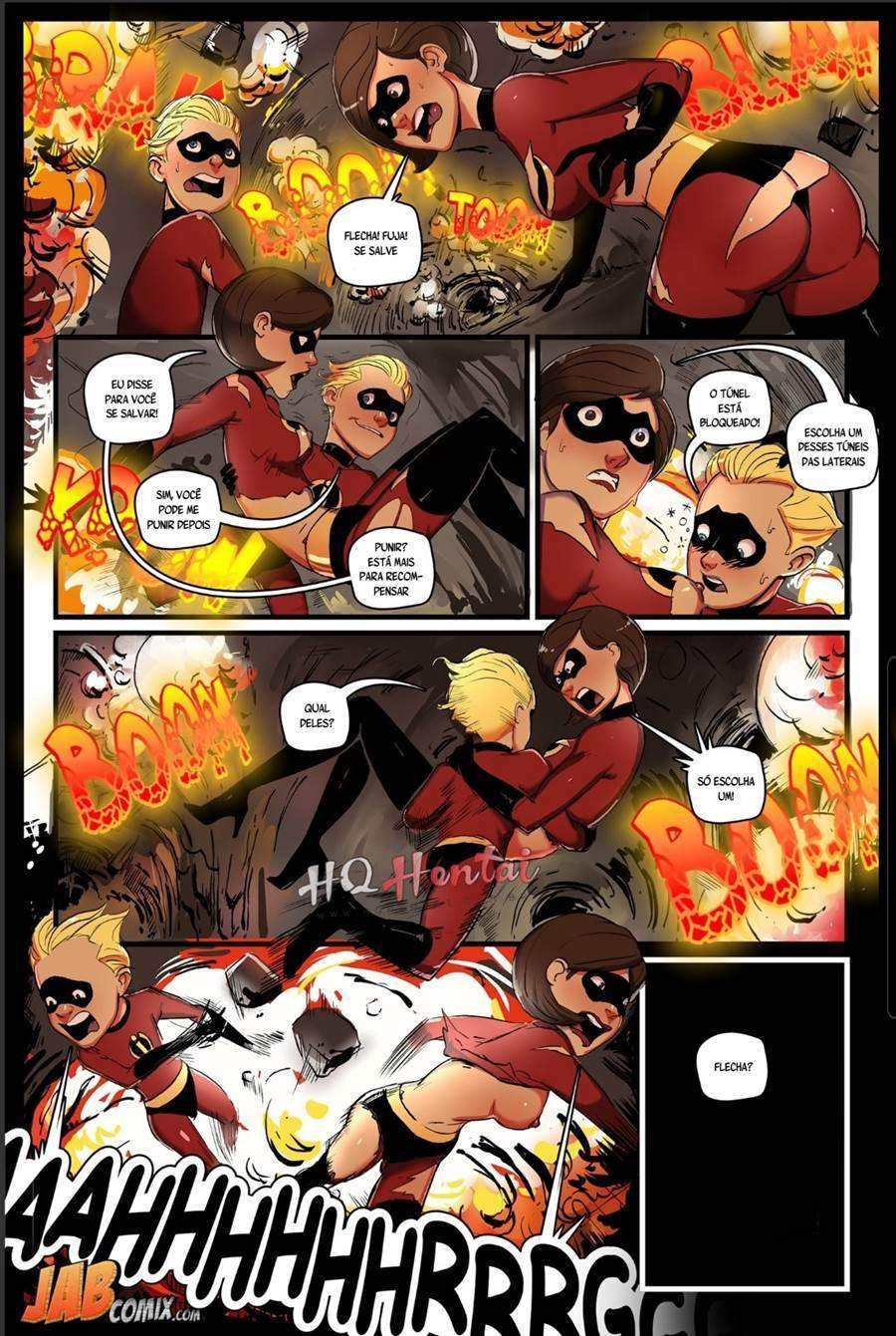 Os Improvaveis part 2 Disclaimer Hentai 03 - hentai, comics-hq