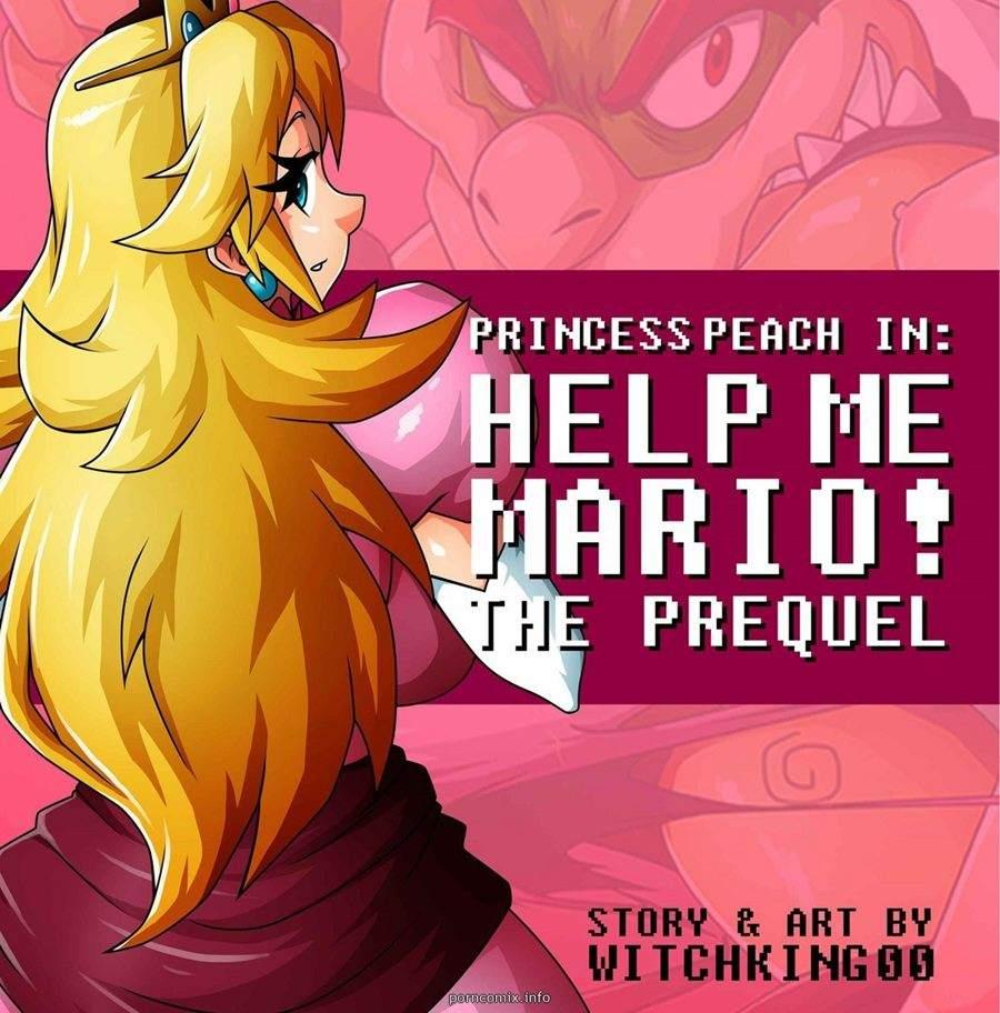Princess Peach Help me Mario Witchking00 Hentai Pag. 01 - hentai, comics-hq