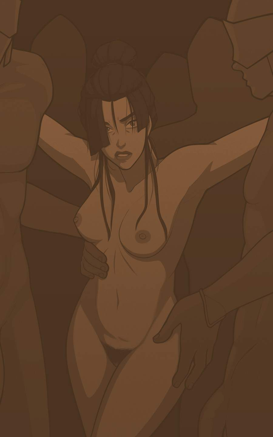 Azula The Boiling Rock MrPotatoParty Hentai PT BR Pag. 02 - hentai, comics-hq