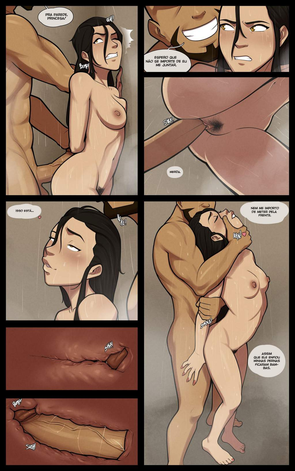 Azula The Boiling Rock MrPotatoParty Hentai PT BR Pag. 27 - hentai, comics-hq