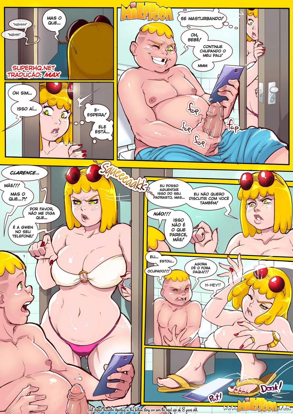 New Adventures Of Clarence MilfToon Hentai PT BR Pag. 04 - hentai, comics-hq