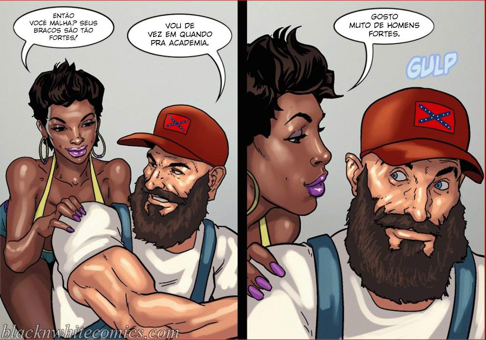 Make America Great Again Yair InterRacial The Hentai p.06 - hentai, comics-hq
