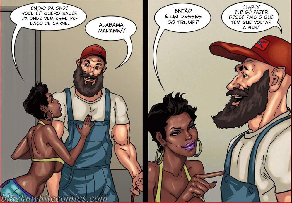 Make America Great Again Yair InterRacial The Hentai p.08 - hentai, comics-hq
