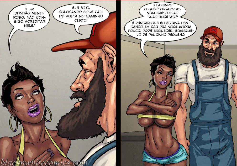 Make America Great Again Yair InterRacial The Hentai p.09 - hentai, comics-hq