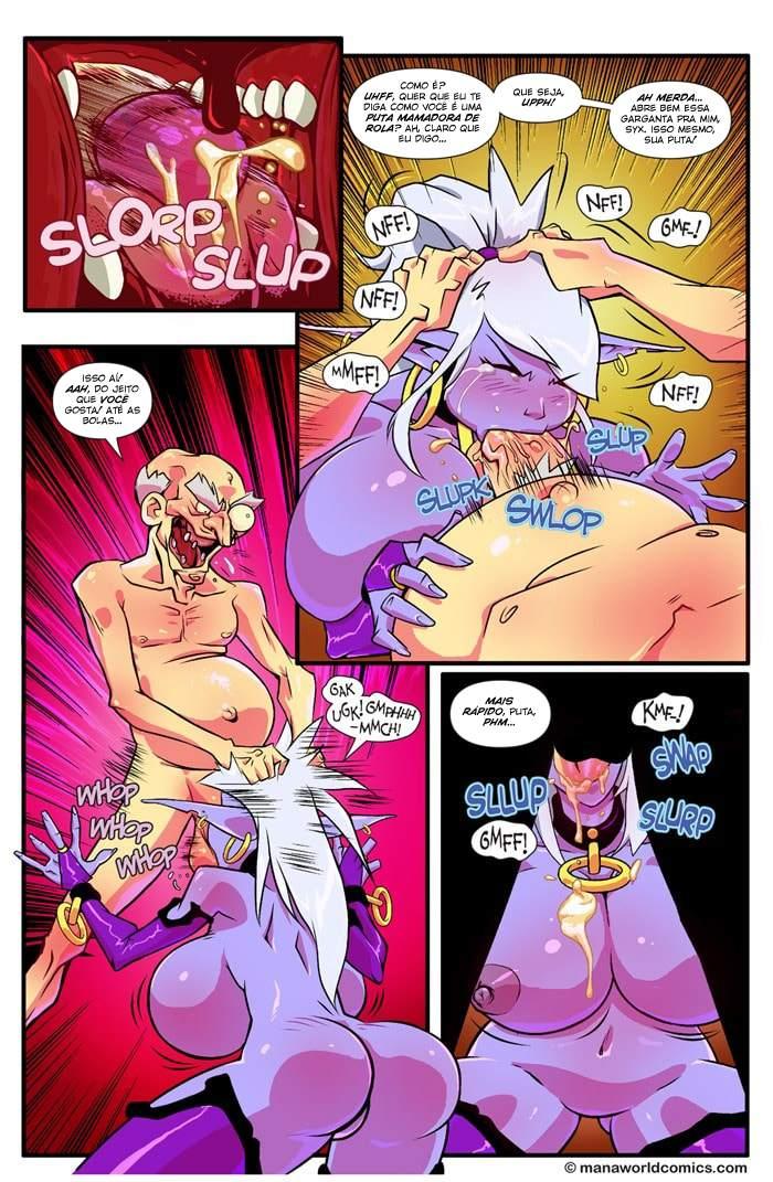 Mana world part 3 Fred Perry Bondage The Hentai p.18 - hentai, comics-hq