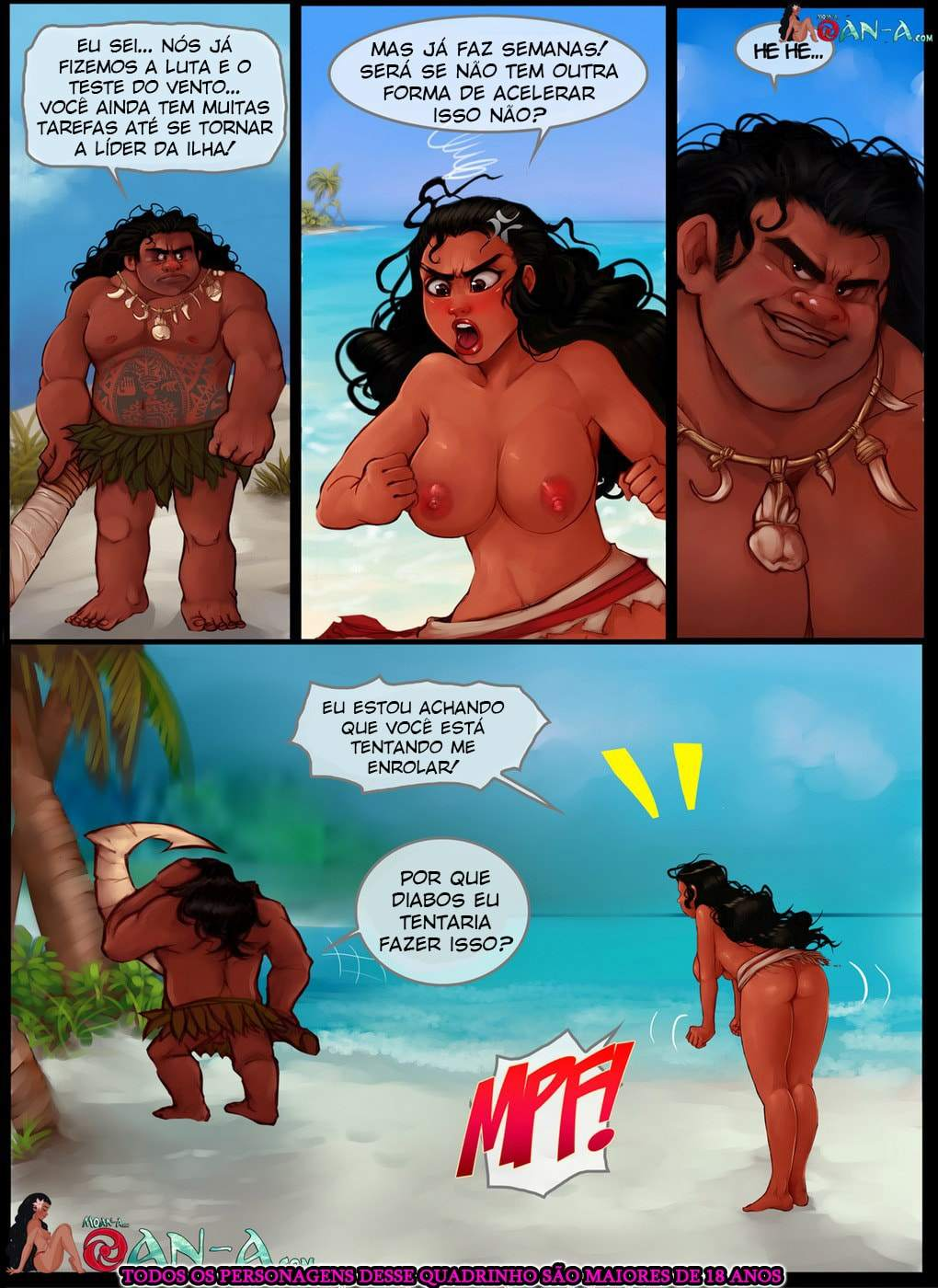 Moan part 2 Chesare Disney The Hentai 06 - hentai, comics-hq