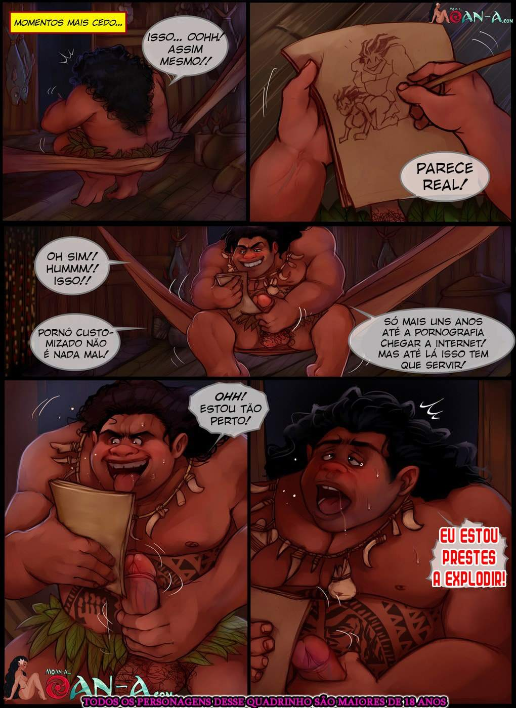 Moan part 2 Chesare Disney The Hentai 07 - hentai, comics-hq