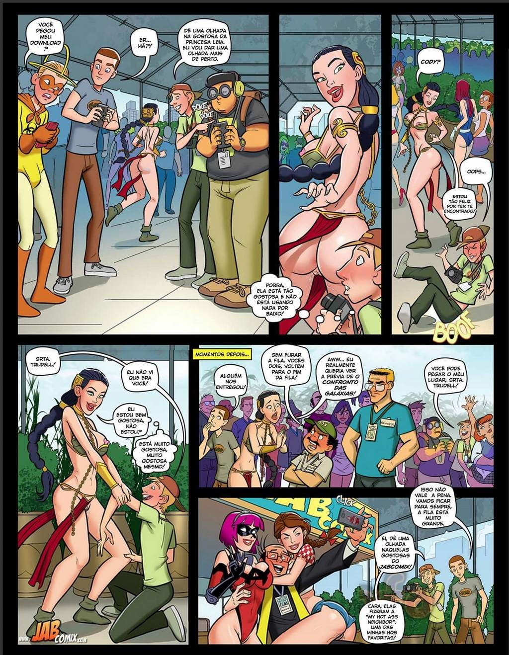Nerd 2 Mark Kleanup Incesto The Hentai P.03 - hentai, comics-hq