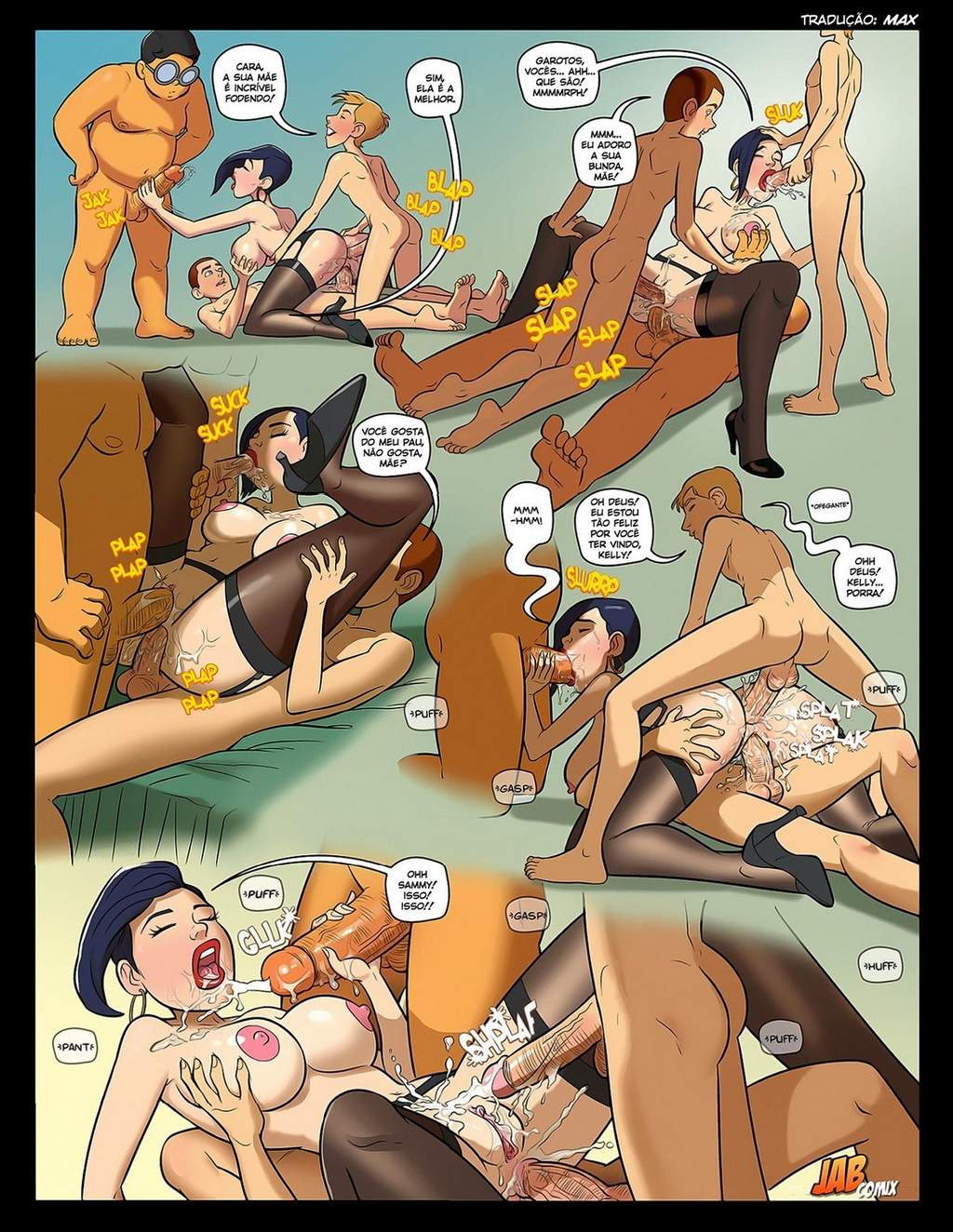 Nerd 2 Mark Kleanup Incesto The Hentai P.21 - hentai, comics-hq