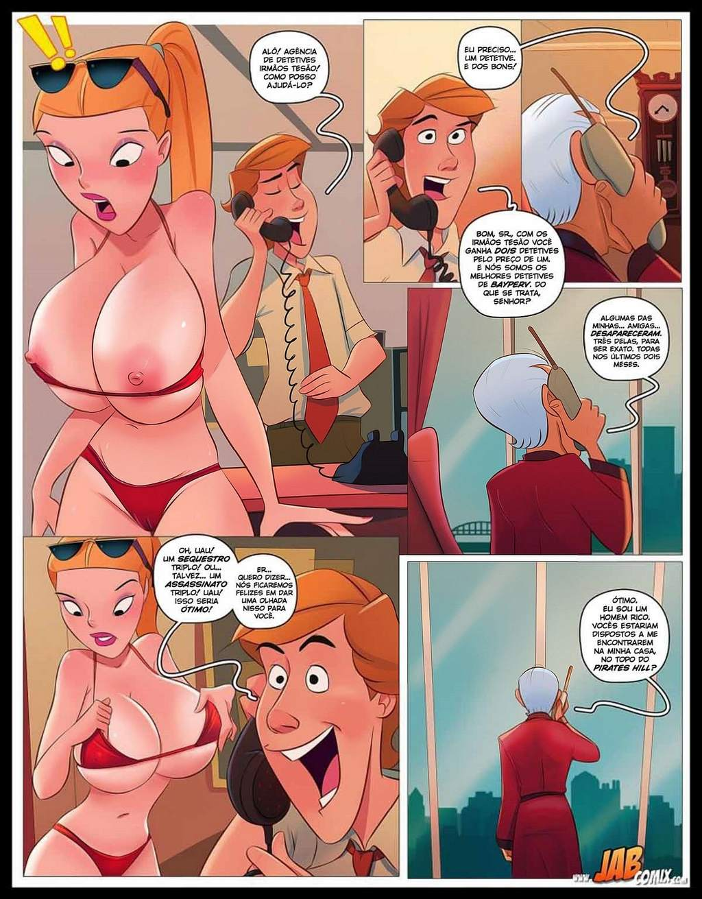 The Hardon Sibs part 1 John Moz Incesto The Hentai 08 - hentai, comics-hq