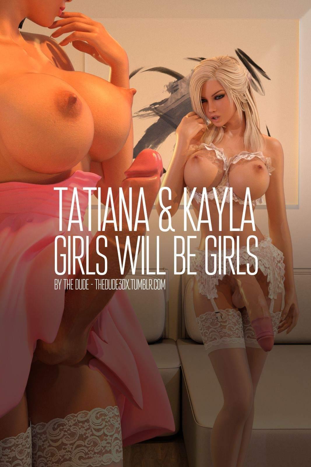 Girls Will Be Girls part 2 The Hentai pt br 01 - hentai, comics-hq