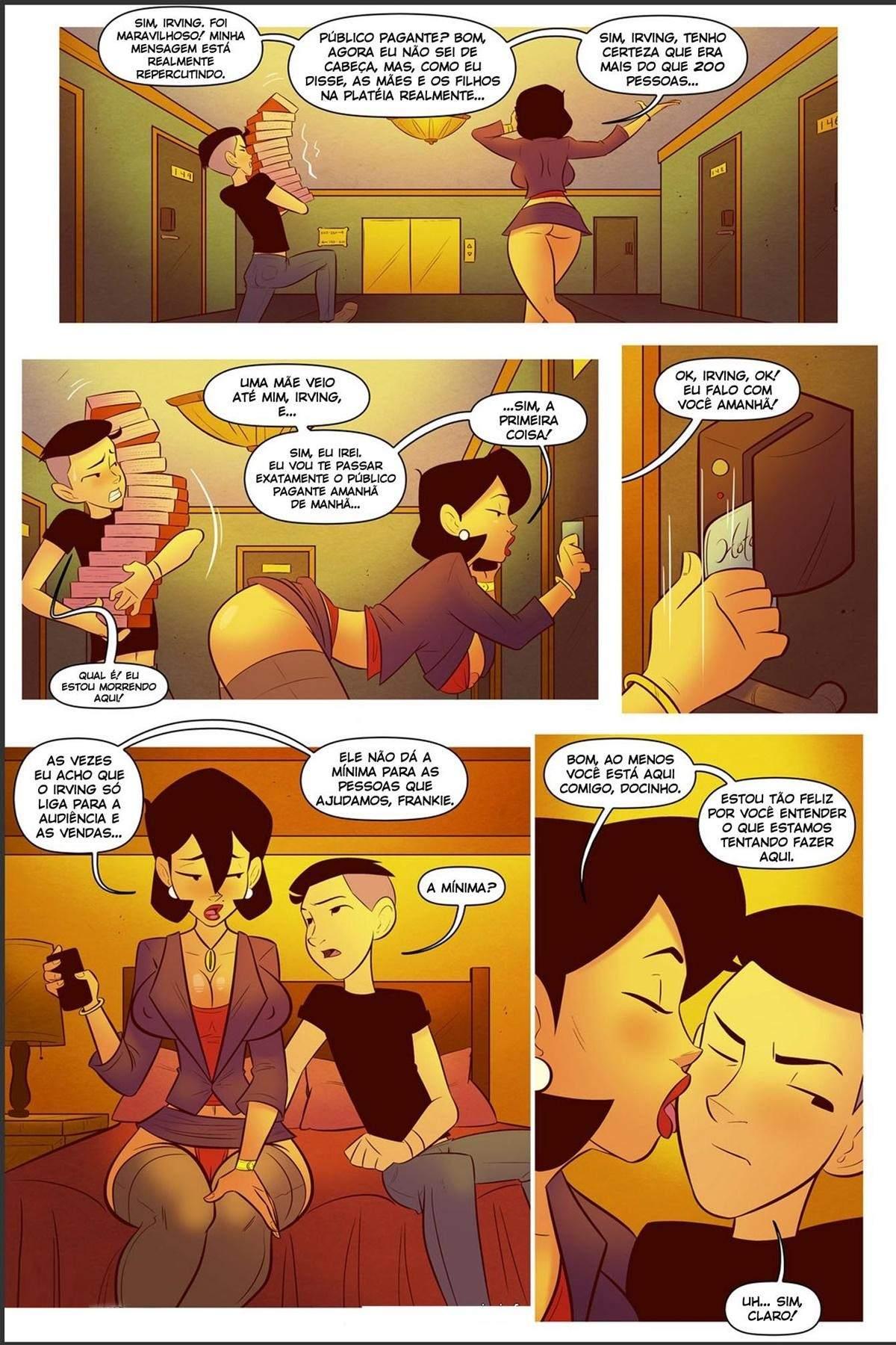 Minha Mae A Estrela da Turne do Livro The Hentai pt br 06 - hentai, comics-hq
