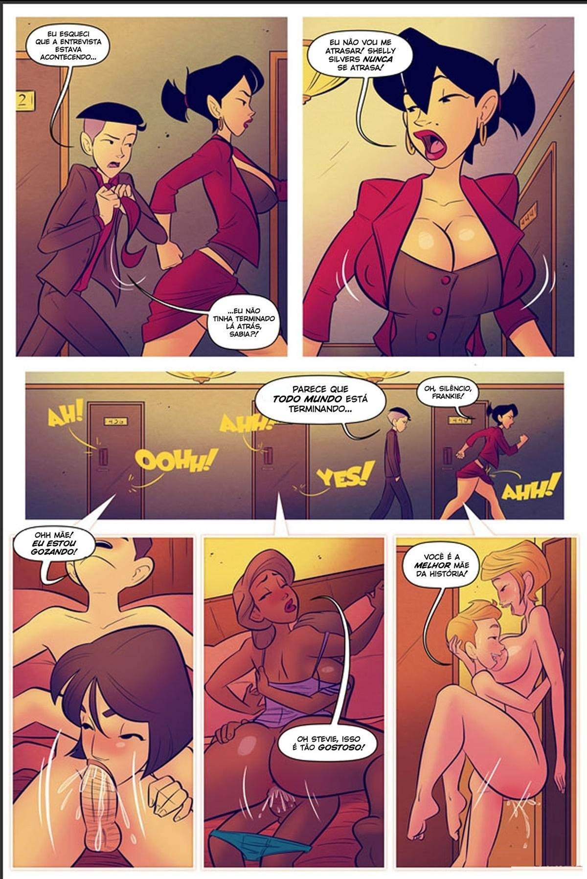 Minha Mae A Estrela da Turne do Livro The Hentai pt br 14 - hentai, comics-hq