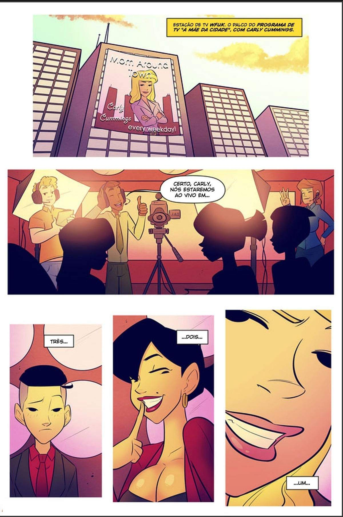 Minha Mae A Estrela da Turne do Livro The Hentai pt br 15 - hentai, comics-hq