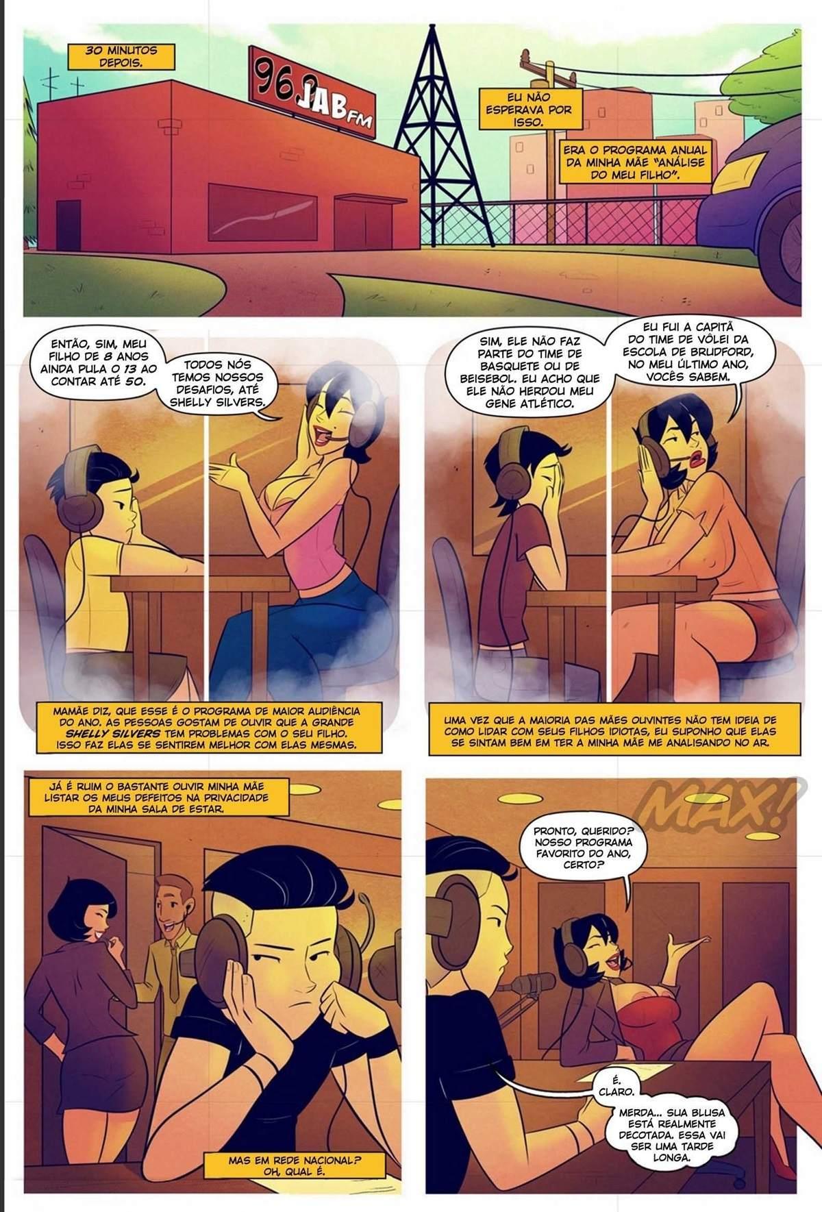 Minha Mae A Estrela do Radio The Hentai pt br 12 - hentai, comics-hq