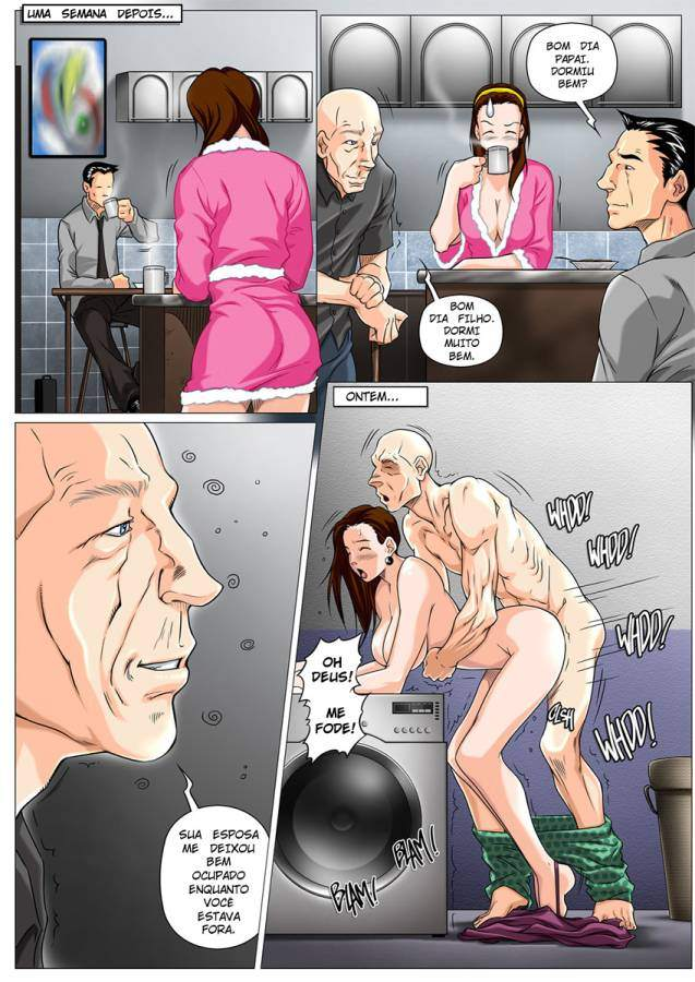 The Horny Stepfather The Hentai pt br 17 - hentai, comics-hq