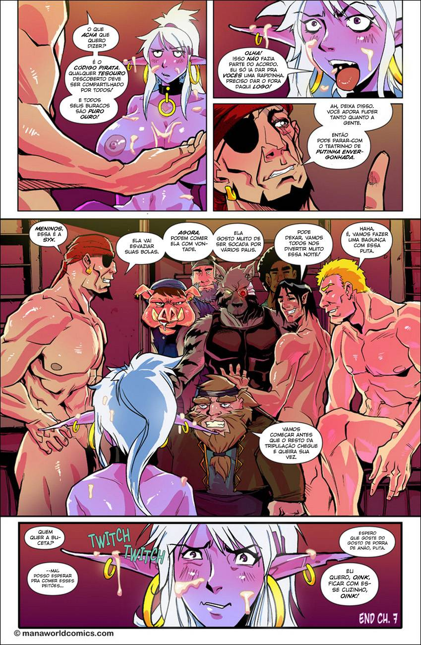 Mana World vol 7 The Hentai pt br 16 - hentai, comics-hq