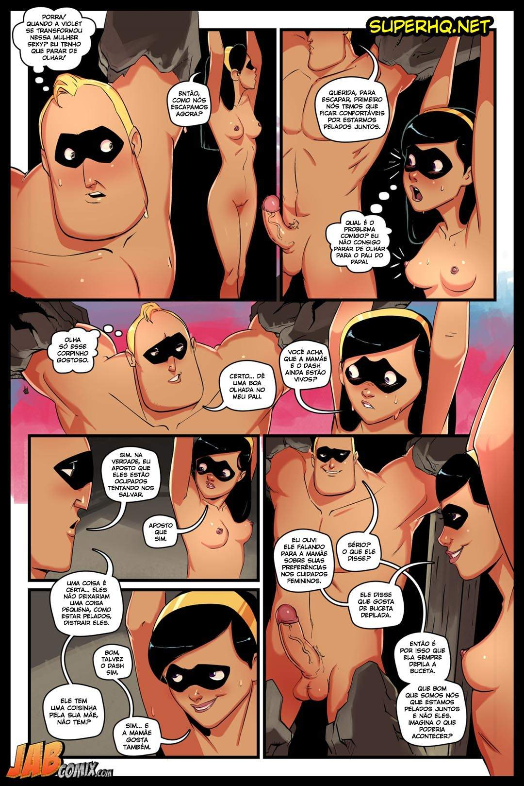 Os Improvaveis parte 2 The Hentai pt br 14 - hentai, comics-hq