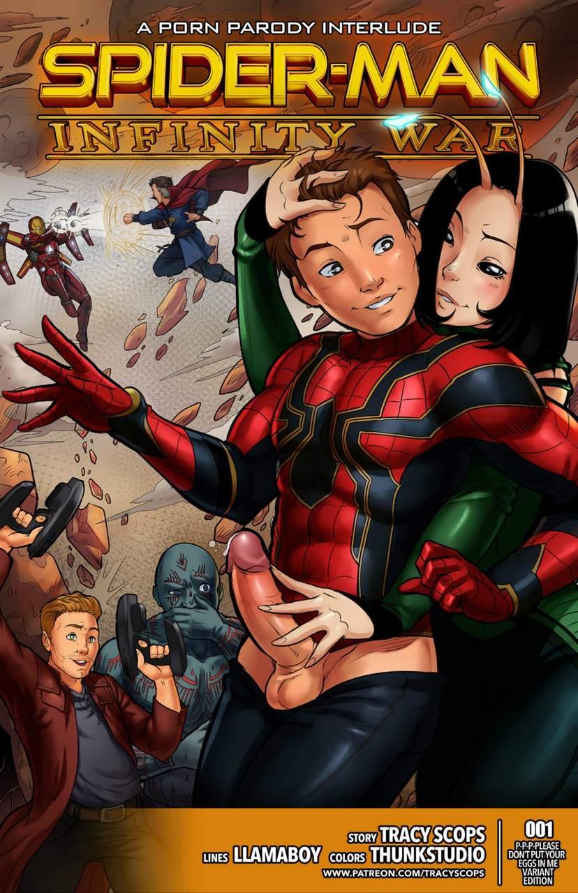 Spider Man Infinity War The Hentai pt br 01 - hentai, comics-hq
