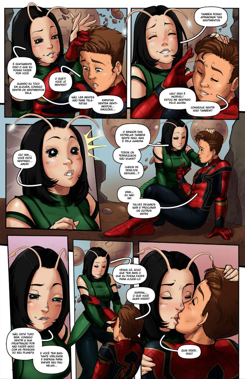 Spider Man Infinity War The Hentai pt br 04 - hentai, comics-hq