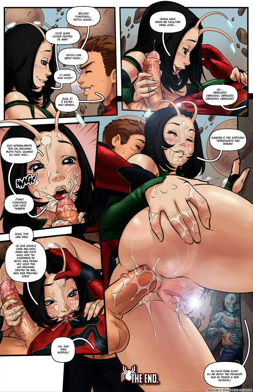 Spider Man Infinity War The Hentai pt br 10 - hentai, comics-hq