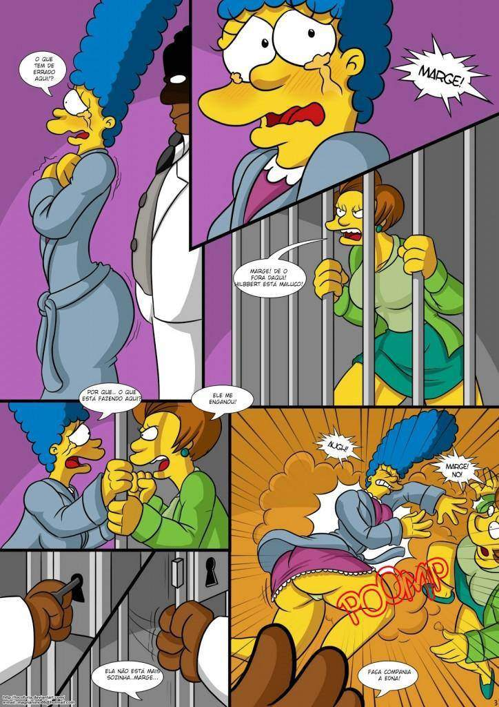 Treehouse of Horror parte 1 Hentai pt br 04 - hentai, comics-hq