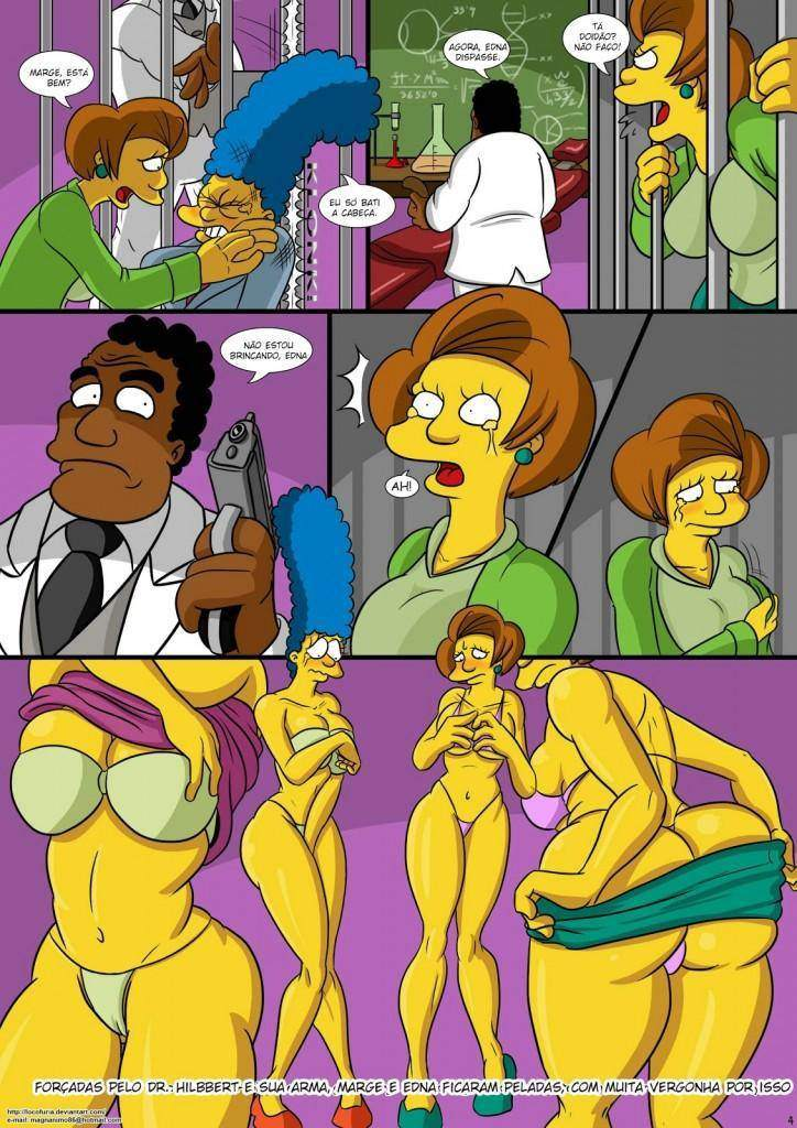 Treehouse of Horror parte 1 Hentai pt br 05 - hentai, comics-hq