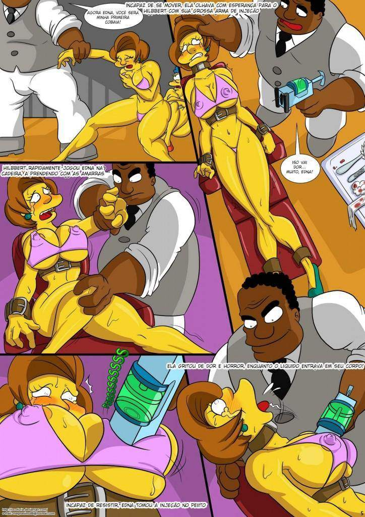 Treehouse of Horror parte 1 Hentai pt br 06 - hentai, comics-hq