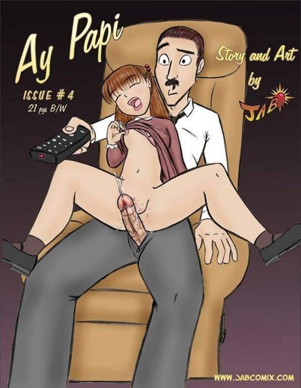 Ay Papi Parte 4 Hentai pt br 01 - incesto, hentai, comics-hq