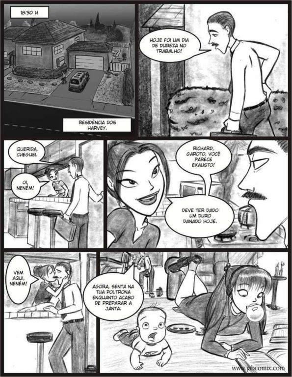 Ay Papi Parte 4 Hentai pt br 02 - incesto, hentai, comics-hq