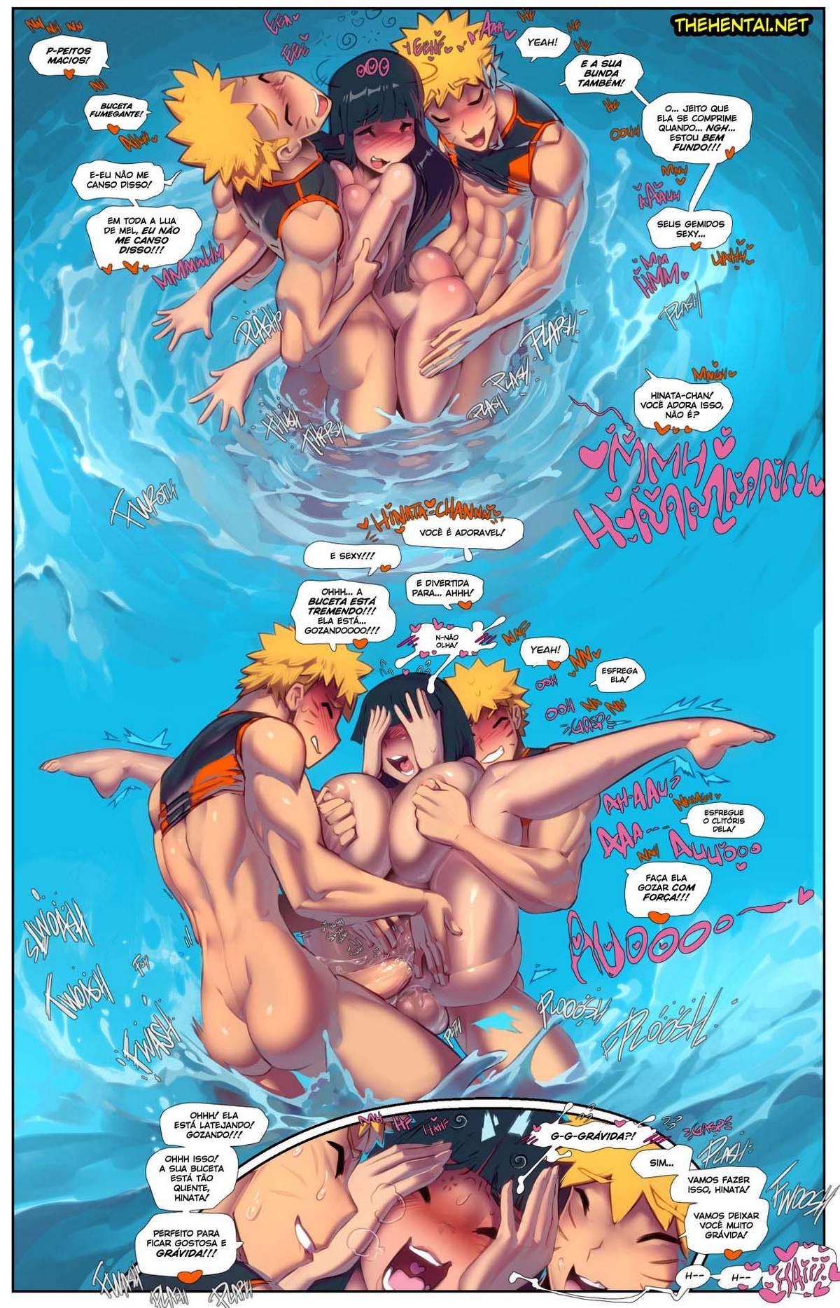 Hot Spring Hentai pt br 08 - hentai, exclusiva, comics-hq