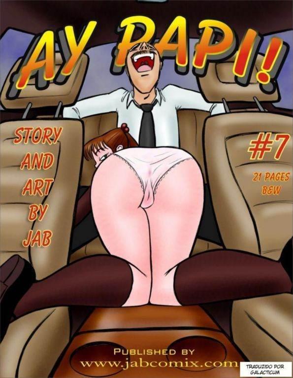 Ay Papi part 7 Hentai pt br 01 - incesto, hentai, comics-hq