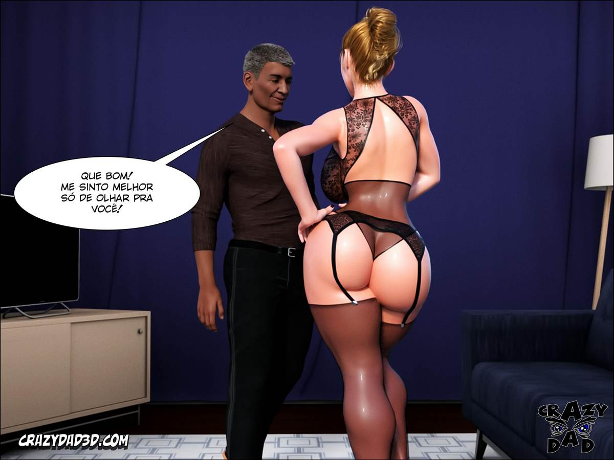 Father in Law at Home 1 Hentai pt br 26 - hentai, 3d