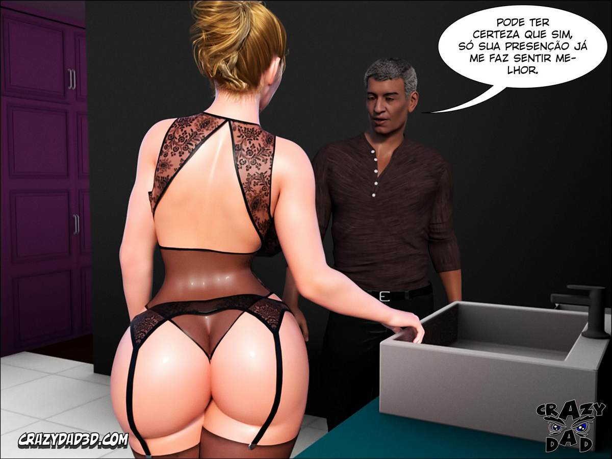 Father in Law at Home 1 Hentai pt br 38 - hentai, 3d