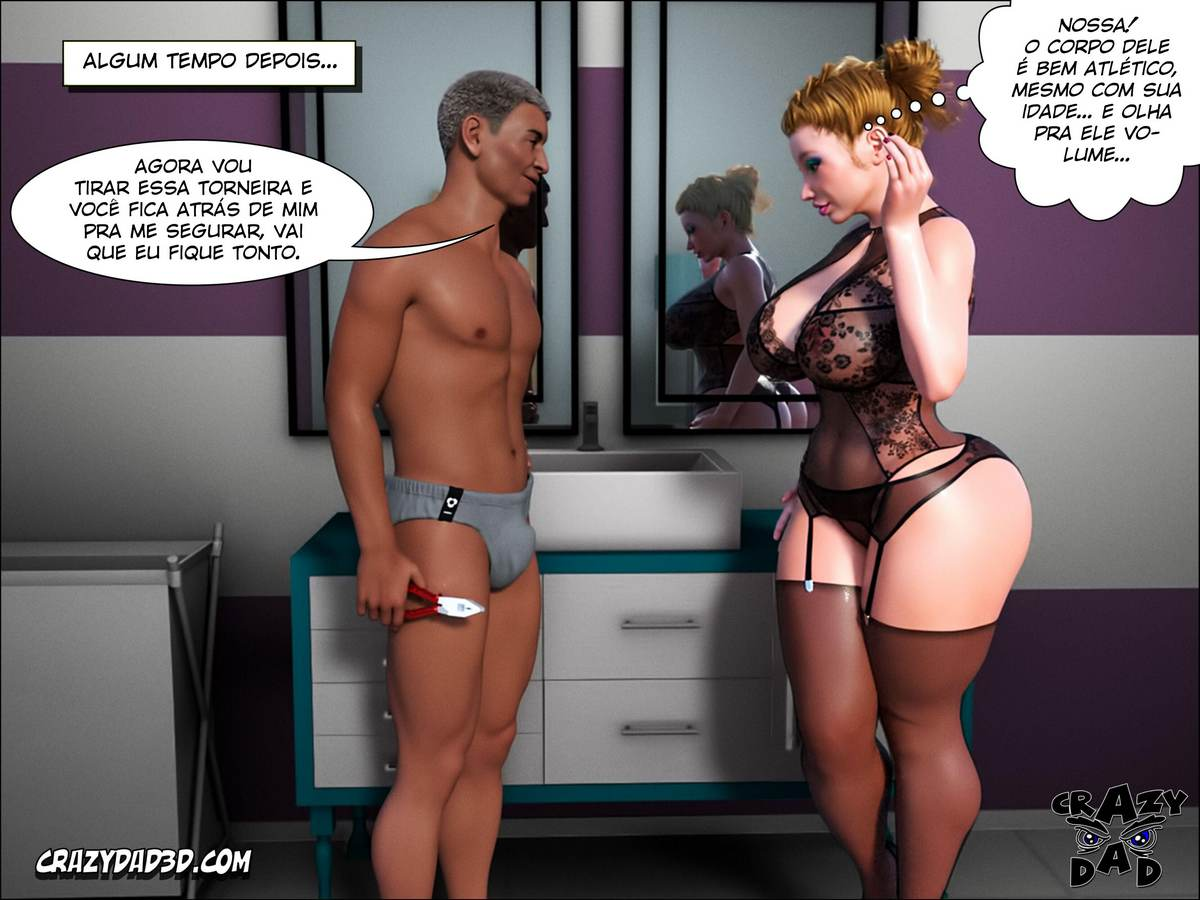 Father in Law at Home 1 Hentai pt br 42 - hentai, 3d