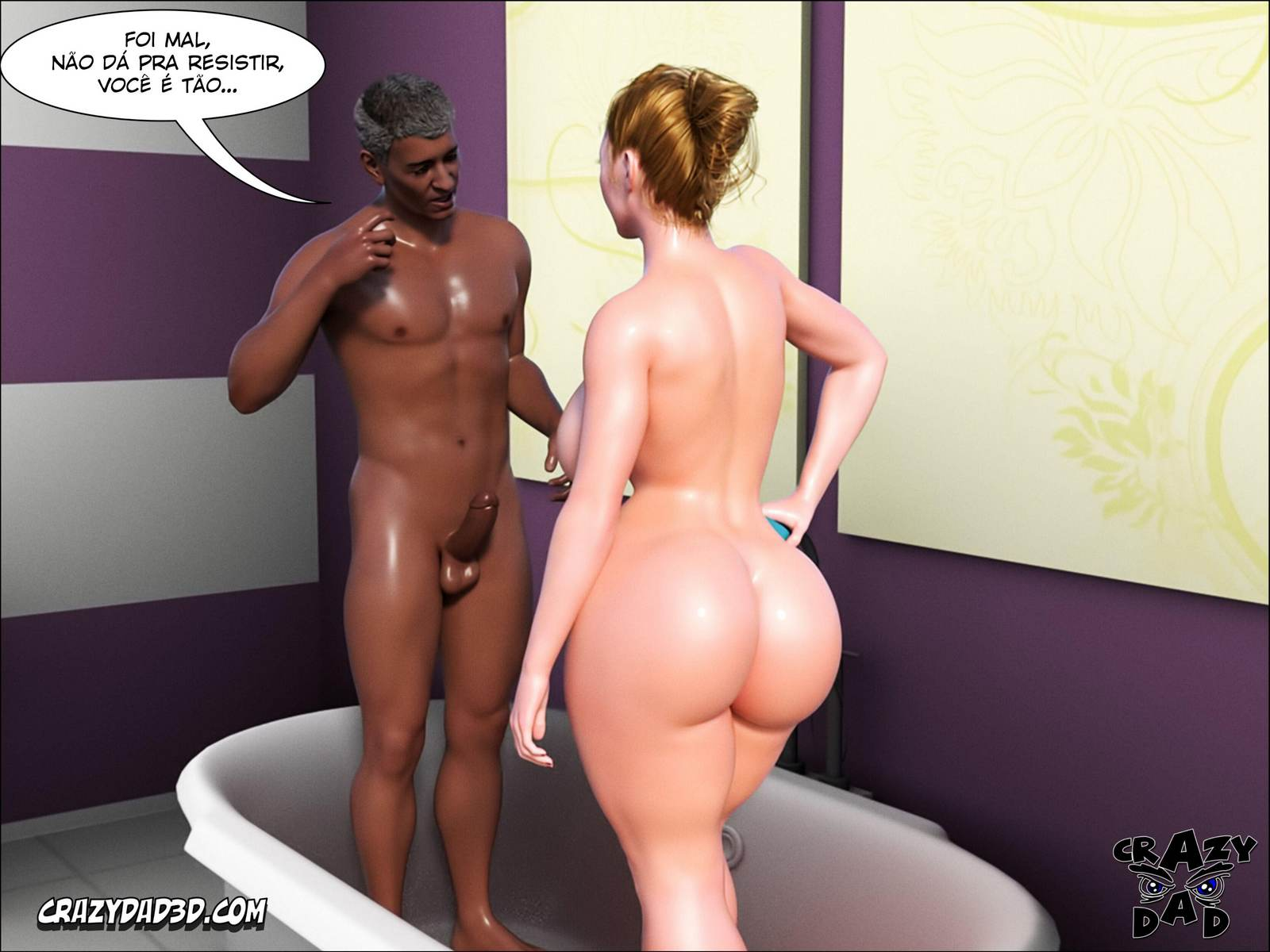 Father in Law at Home part 2 Hentai pt br 50 - interracial, hentai, 3d