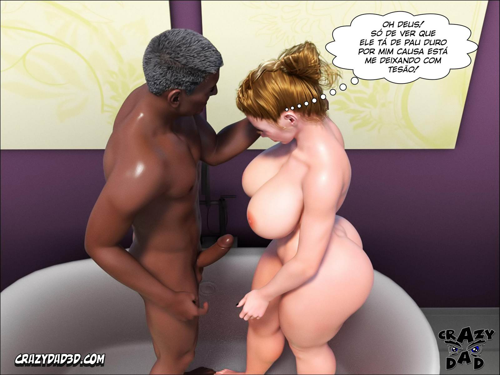 Father in Law at Home part 2 Hentai pt br 55 - interracial, hentai, 3d