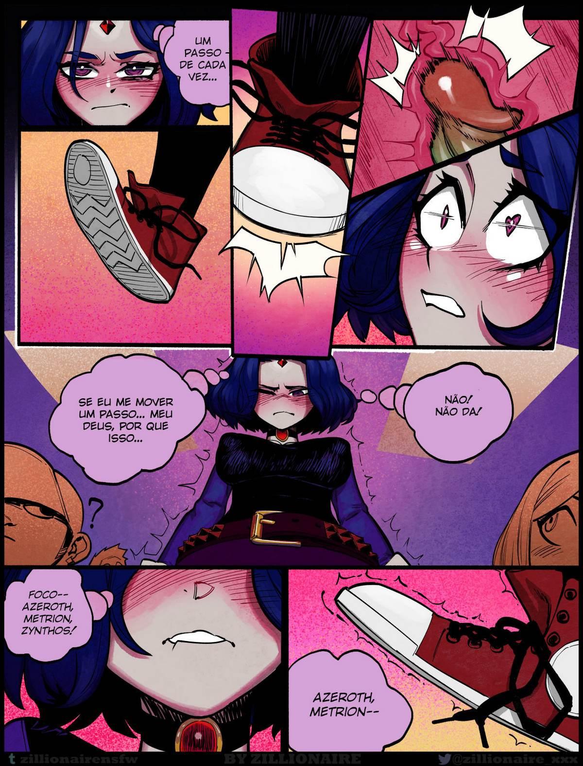 Luckless Teen Titans Hentai pt br 15 - parodia, hentai, futanari-shemale, exclusiva