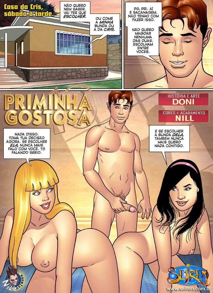 Priminha Gostosa parte 10 Hentai pt br 02 - incesto, hentai