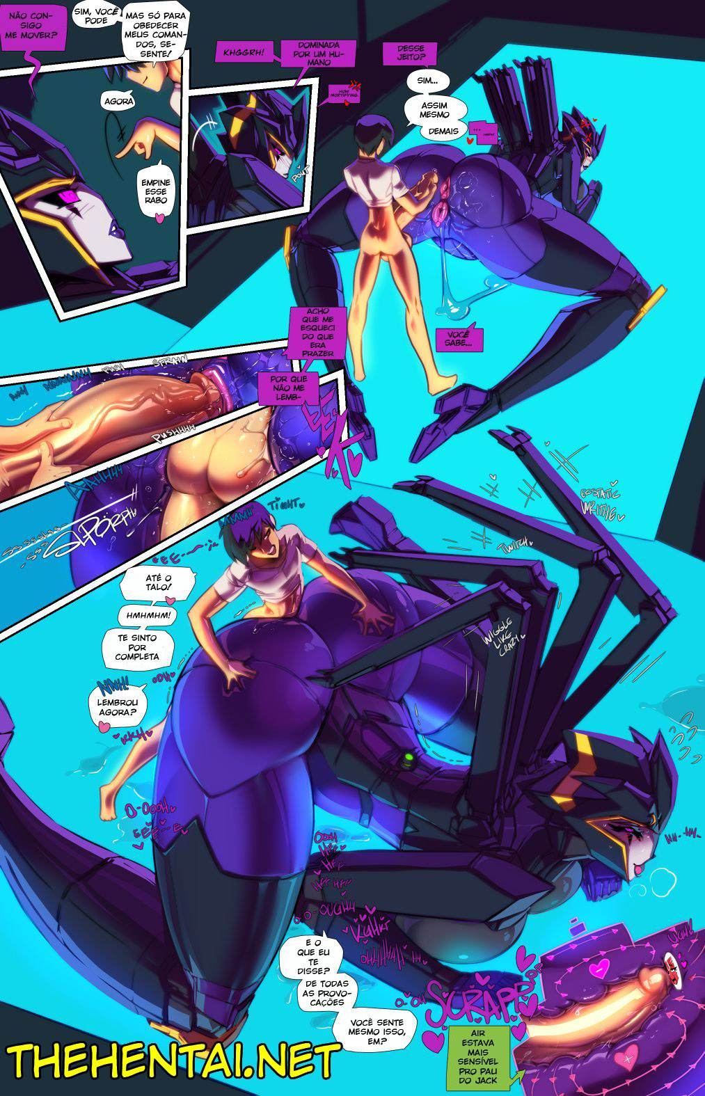 The Full Course tranformers Hentai pt br 08 - hentai, exclusiva, comics-hq