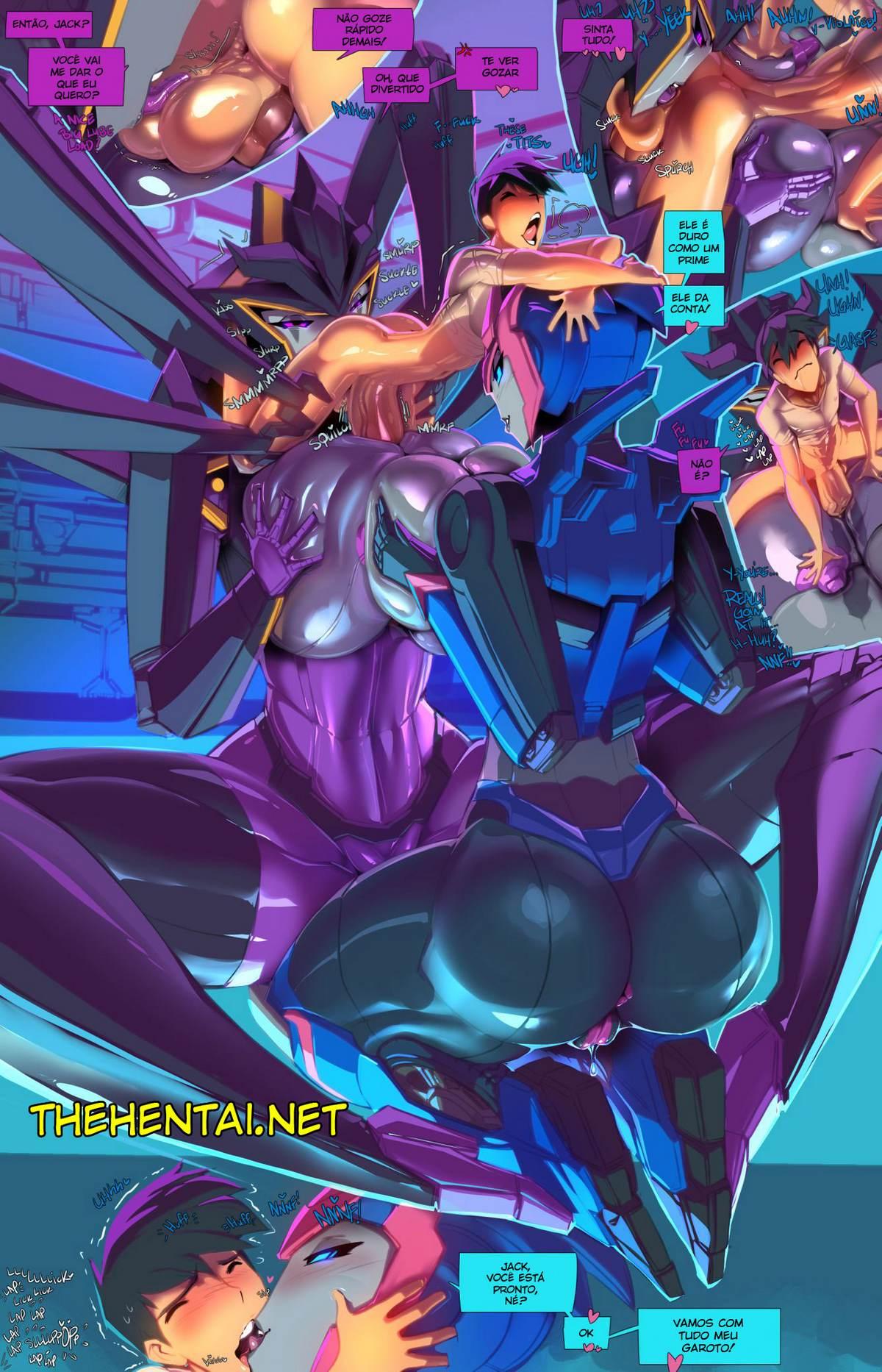 The Full Course tranformers Hentai pt br 13 - hentai, exclusiva, comics-hq